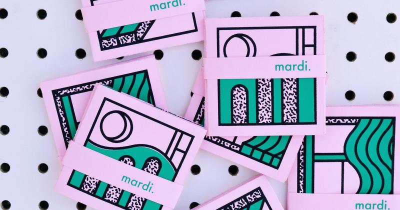 Fanzine Mardi - Dự án thử nghiệm in lụa của sinh viên Camille Charbonneau