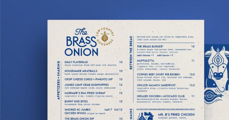 Brass Onion - Nhà hàng phục vụ ẩm thực cao cấp theo phong cách đương đại