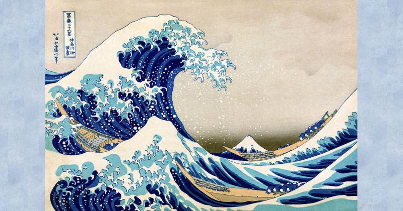 Lịch sử của tác phẩm The Great Wave off Kanagawa