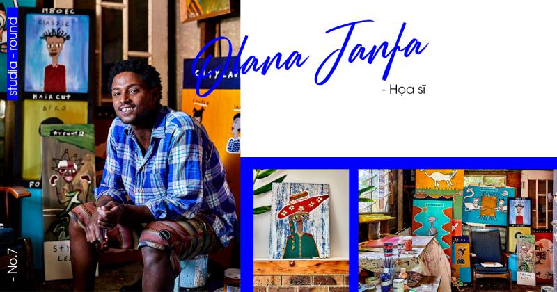 [Studia-round] Kỳ 7 | Gặp gỡ chàng họa sĩ với cảm hứng vẽ tranh từ những di sản của đất nước Ethiopian