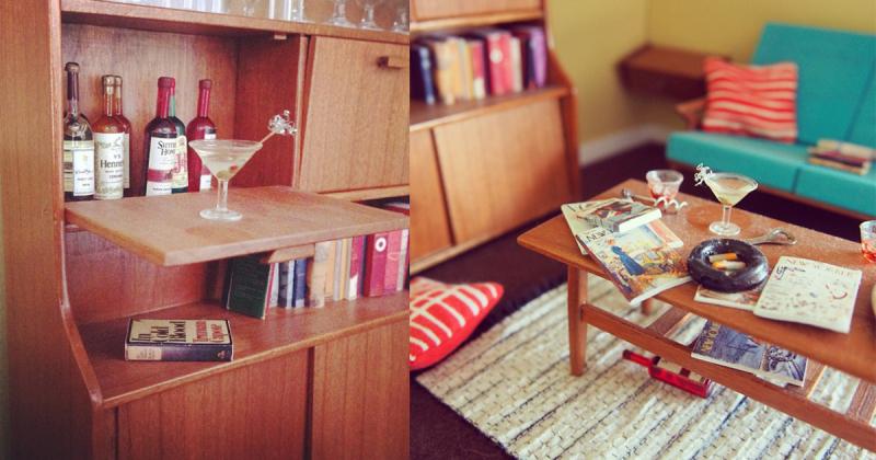 Cùng lạc vào thế giới nội thất tí hon của Emily Boutard