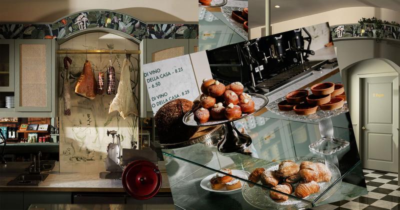 Hiệu ăn tân thời phong cách Ý - Caffè La Tana tại Vancouver
