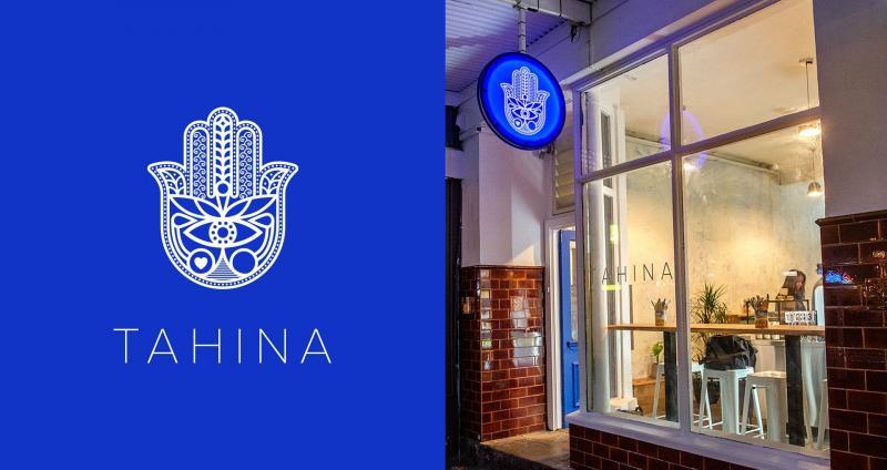 Bộ nhận diện cho nhà hàng chay Tahina mang đậm nét truyền thống