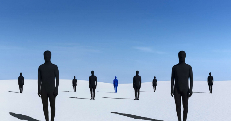 Nhìn trộm vào những giấc mơ màu xanh qua lăng kính của nghệ sĩ Gabriel Isak