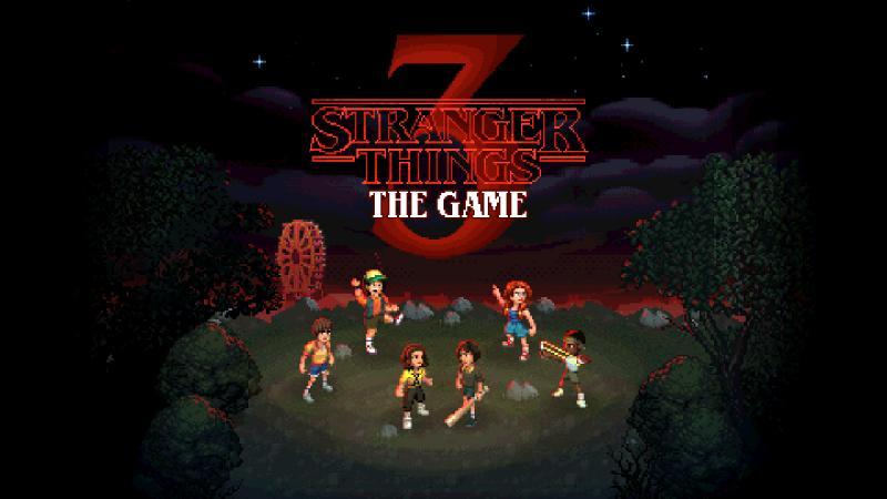 'Stranger Things 3: The Game' sắp ra mắt với phong cách pixel art!