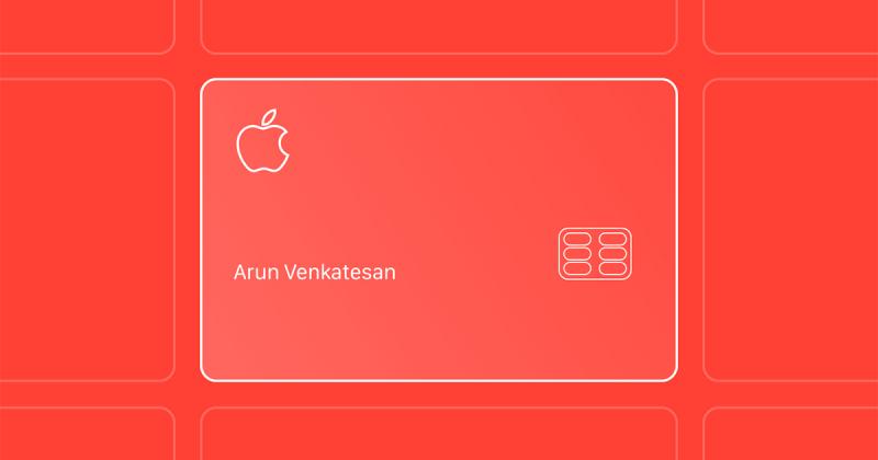 Khám phá thiết kế có 1-0-2 của thẻ tín dụng Apple