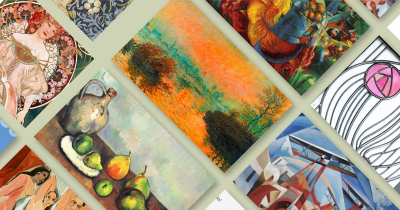 Bản tóm tắt 15 phong trào nghệ thuật và thiết kế nổi bật (Phần 1)