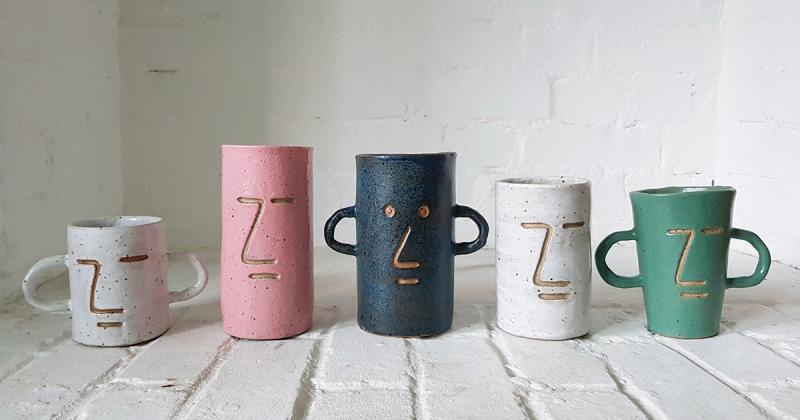Bộ sưu tập gốm với nhiều khuôn mặt với tính cách khác biệt