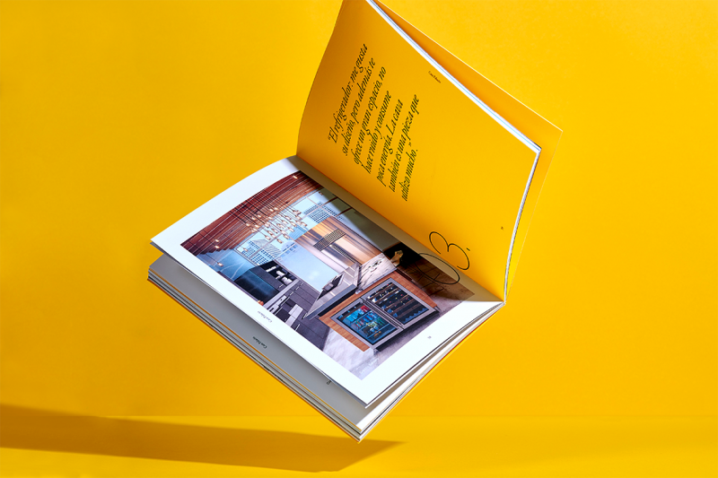 Ấn phẩm tạp chí của thương hiệu nội thất trang trí Casa Palacio