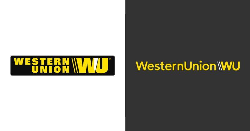 Quá trình phát triển logo của Western Union