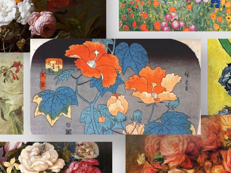 12 bức tranh hoa nổi tiếng gắn liền với lịch sử nghệ thuật thế giới