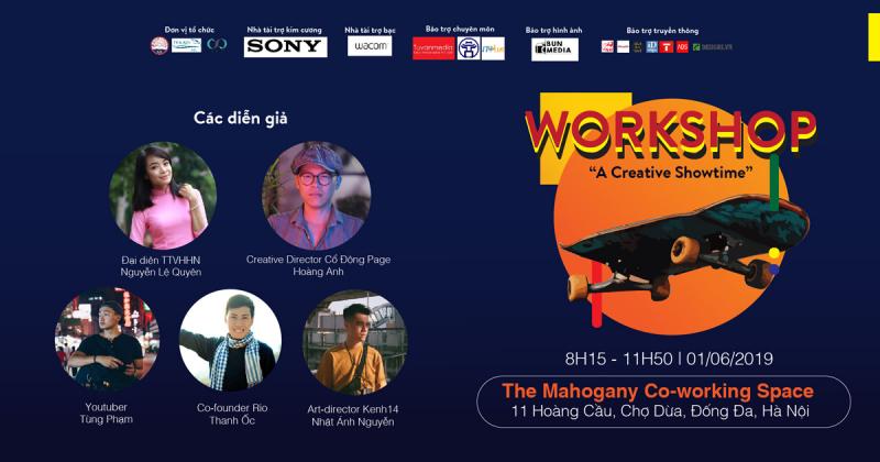Hiểu hơn cảm nhận của người trẻ về văn hoá đường phố Việt tại workshop: A Creative Showtime