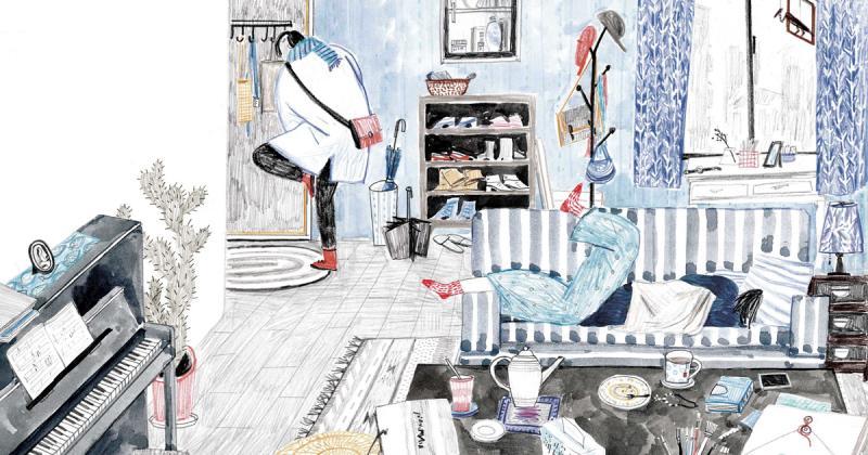 Nét vẽ rối rắm đầy phóng khoáng của nghệ sĩ minh hoạ Pei-hsiu Chen