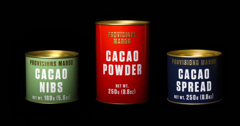 Provisions Marou - Dòng sản phẩm cơ bản trong những hộp thiếc sang trọng