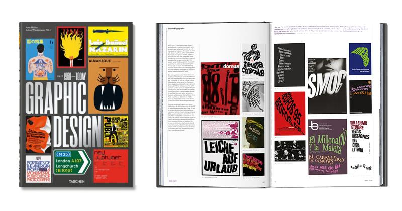 Khám phá lịch sử thiết kế đồ họa qua cuốn sách của Taschen