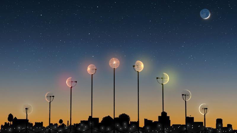 Moon - Tác phẩm sắp đặt gợi nhắc về quá trình chinh phục không gian của con người