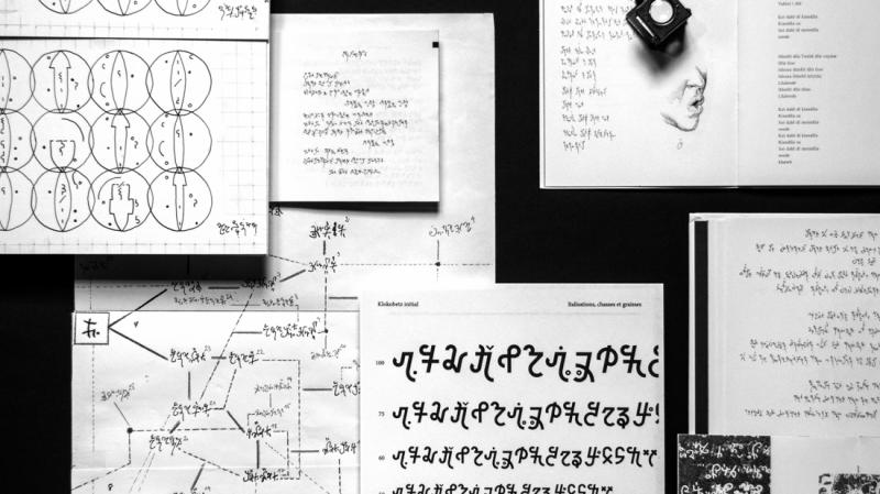 Thiết kế typeface cho ngôn ngữ bí mật truyền lại từ người cha