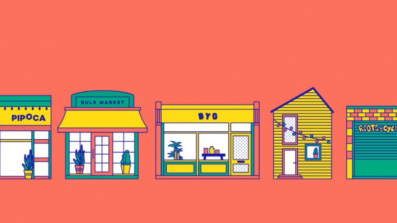 USELESS - Trang web dành cho các cửa hàng không chất thải của London