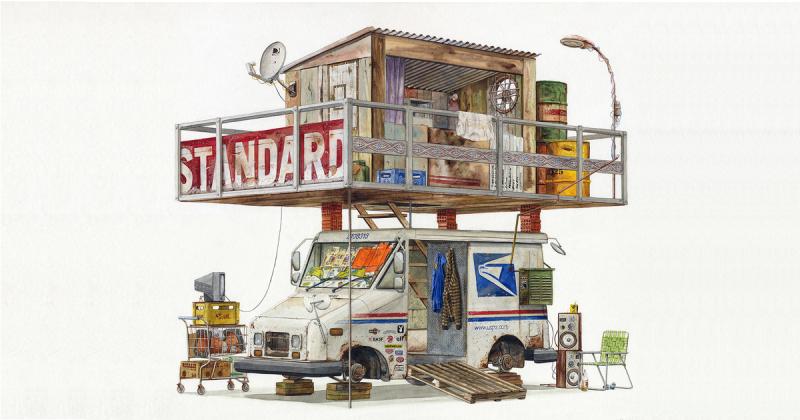 Tìm lại những ký ức hoài niệm hiện hữu qua tranh màu nước của nghệ sĩ Alvaro Naddeo