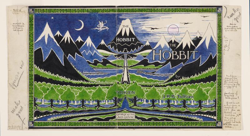 Những bức tranh màu nước tuyệt đẹp của người chấp bút The Lord of the Rings và The Hobbit