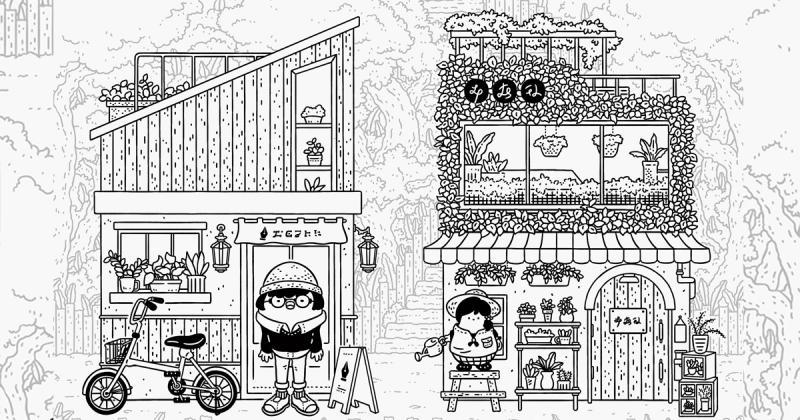Những cửa hàng nhỏ xinh và đáng yêu qua nét vẽ của Popoland