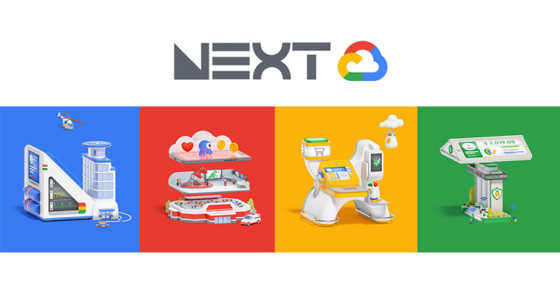 Hoạt ảnh minh họa đặc sắc dành cho hội nghị Google Next 2019