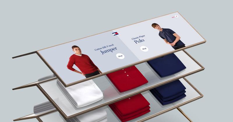 [UI Inspiration] Tommy Hilfiger x Momkai và trải nghiệm mua sắm mới lạ cho người dùng với Tommy Touch