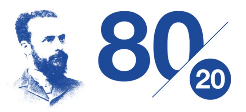 Sức mạnh của nguyên tắc 80/20 trong thiết kế tương tác
