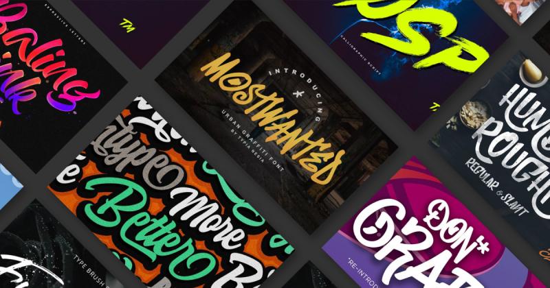 Tổng hợp 21 font chữ graffiti miễn phí