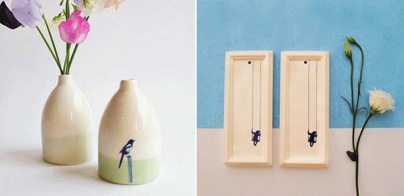 Những tác phẩm gốm dịu dàng từ nghệ nhân Kesem Yahav