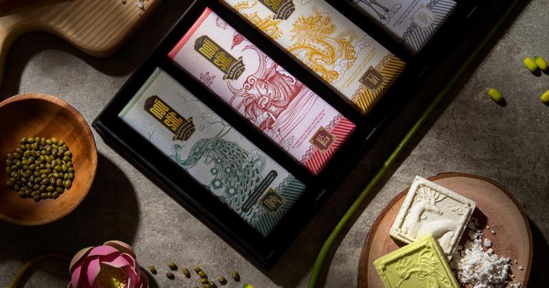Bộ nhận diện dành cho bánh in ngũ sắc truyền thống ở xứ Huế