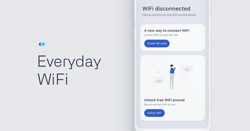 [UI Inspiration] Everyday Wifi tăng tính trải nghiệm với người dùng bằng thiết kế giao diện thân thiện