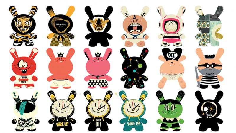 Quái vật Dunny: Món đồ chơi nghệ thuật đáng yêu từ Kidrobot