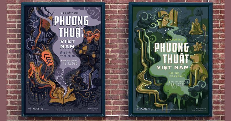 Đồ án tốt nghiệp của Tú Ngô về phương thuật trong văn hoá truyền thống Việt