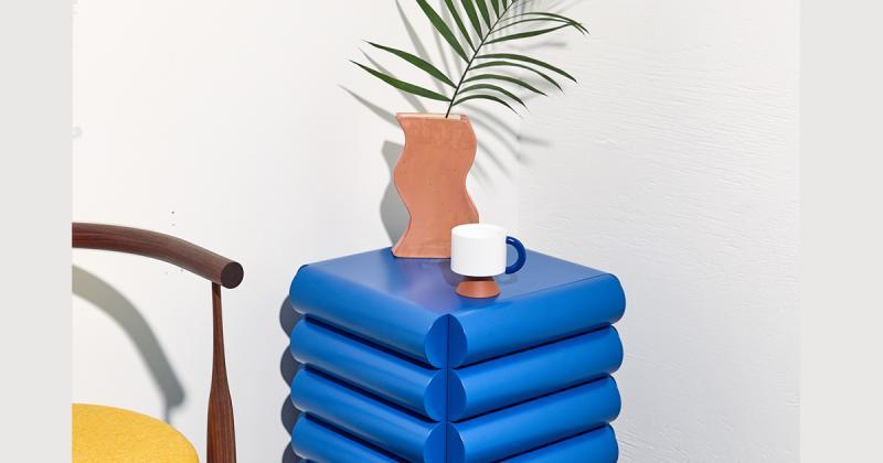 Những sản phẩm nội thất mang kết cấu hình học tuyệt vời của Steven Bukowski