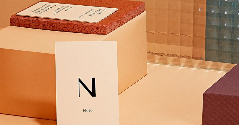 Thương hiệu thiết kế sản phẩm Noto với bộ nhận diện tao nhã thời thượng