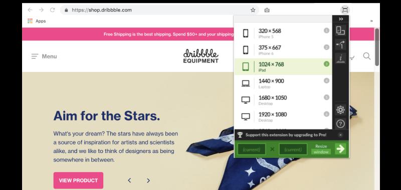 5 ứng dụng mở rộng hữu ích của Chrome mà các Web designers nên thử