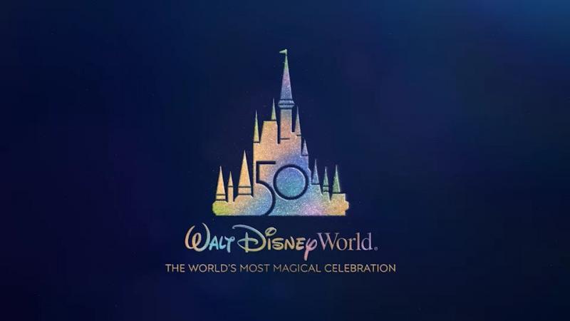 Công bố logo kỉ niệm 50 năm Disney World thiên đường cổ tích