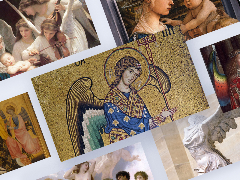 Hình tượng thiên thần trong lịch sử nghệ thuật thế giới