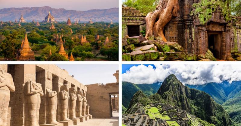 8 tàn tích nghệ thuật cổ xưa vĩ đại nhất thế giới