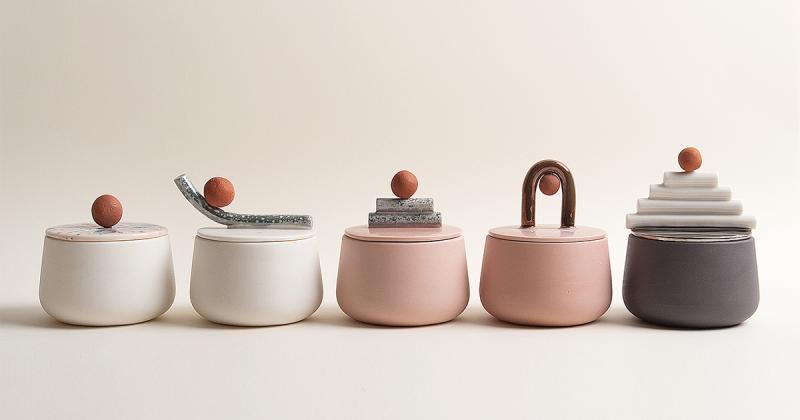 Bộ sưu tập cốc gốm thoả mãn nghệ thuật lẫn công năng của Laura Itkonen