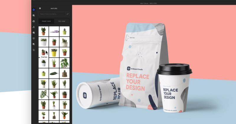 Artboard Studio - nền tảng cung cấp mockup chất lượng cao miễn phí