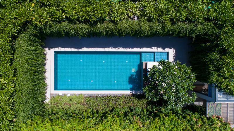 Wyndham Garden Phú Quốc với những căn phòng xanh rì hướng ra bờ hồ khép kín
