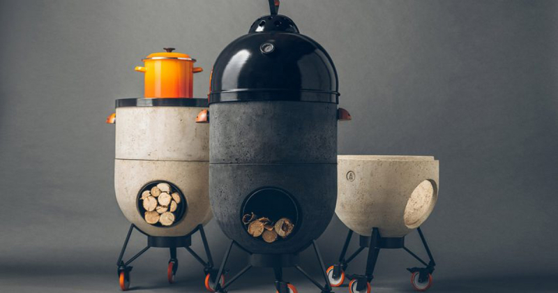 """Bếp lò đa năng Noori kéo người dùng trở về thời điểm """"lửa đóng vai trò cốt lõi trong cuộc sống"""""""