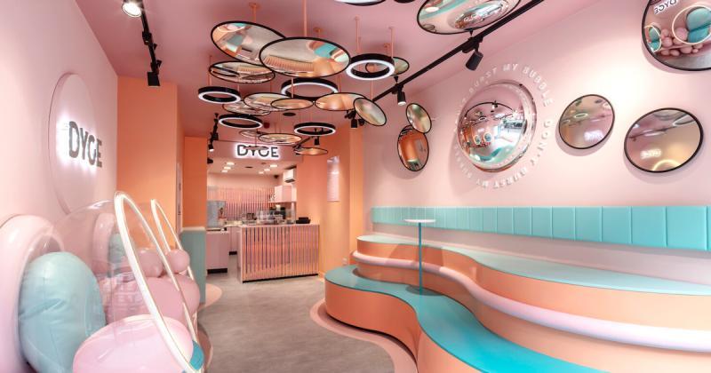 Cách cửa hàng bán kem Dyce biến mọi ngóc ngách thành nơi check-in trong thời đại mạng xã hội