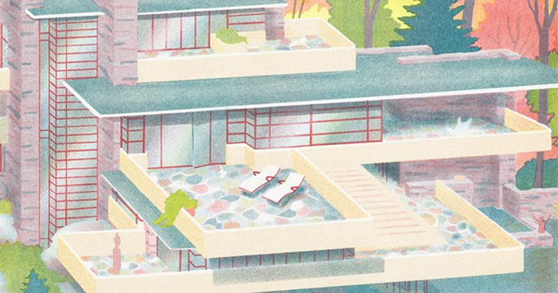 Xây dựng trí tưởng tượng từ những gì có sẵn, Josephin Ritschel vẽ nên những ngôi nhà có thật một cách siêu thực!