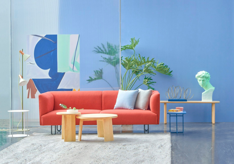 Travipome mang đến làn gió mới cho thị trường nội thất Việt qua bộ ảnh màu sắc siêu thực