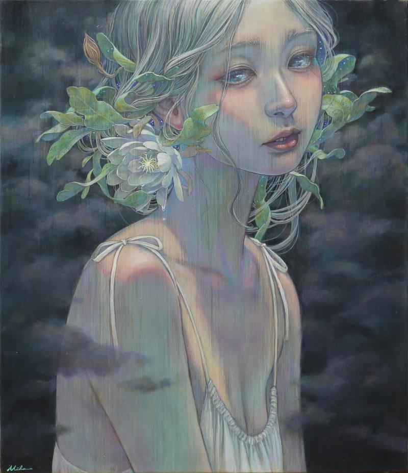 Khi tranh sơn dầu vẽ nên một thế giới mơ mộng đầy cám dỗ và tổn thương