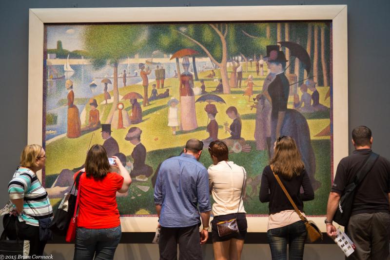 Hiểu hơn về trường phái Pointillist qua bức tranh 'Một chiều chủ nhật trên đảo La Grande Jatte' của Seurat