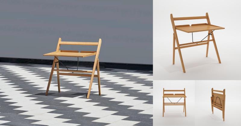 Nguyễn Đức Huynh: thiết kế bàn ghế thắng giải Hoa Mai lấy cảm hứng từ chiếc xuồng và châu chấu